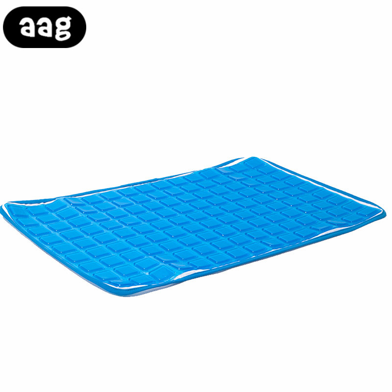 AAG 56x38cm Soft Silicone Gel cooling mat Pad Home Simulation Skin Mats Chair Seat Cushion Summer Massage Sleeping Ice Pad mat ...
