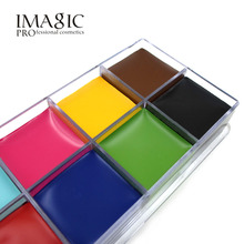IMAGIC 12 Colors Halloween Face Body Face Oil Paints Art professional DIY Painting Oil Art make-up oil