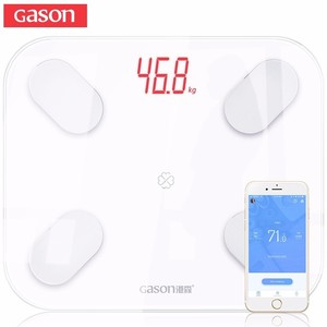 Image 1 - GASON S4 Body Fat Scale Floor Scientific Smart Electronic LED Digital Weight Bathroom Balance Bluetooth APP Android or IOS