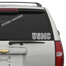 USMC Decal, Military Decal, US Marine Corps Decal, The Few The Proud,