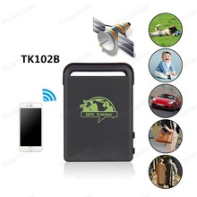 new Tracker Quad Band GPS track Locator car GSM SMS gprs real time tracking system location