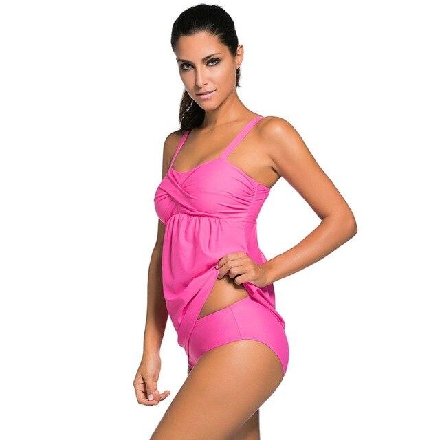 a72f41f4519 Bikinis mujeres traje de baño traje tradicional de la muchacha bikini set  vientre cubierta bañadores biquini