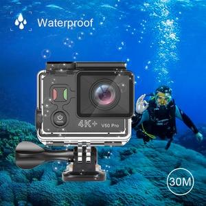 Image 5 - EKEN V50 Pro Actionกล้องAmbarella A12 IMX258 SENSORจริง 4K 30FPSรถจักรยานยนต์กล้องWiFi GOมินิกีฬากล้อง