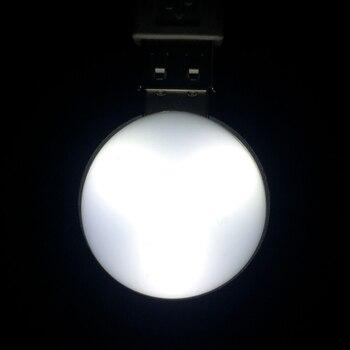 YEGREN Universale Fonte Di Luce Microscopio Biologico USB Lampadina Illuminazione A LED Microscopio Accessorio Di Illuminazione Della Lampada Diametro 35 Millimetri