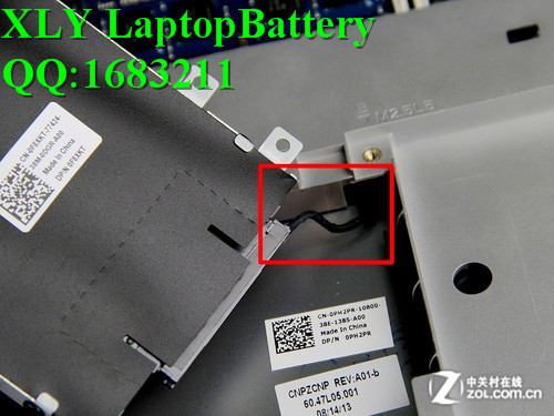 ФОТО Y1FGD F7HVR GENUINE FOR DELL BATTERY 14.4V 3.95AH FOR INSPIRON  15 3000  15-7537 P36F SERIES