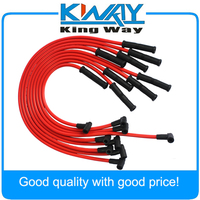 JDMSPEED HEI Spark Plug Wires Set 90 to Straight Fits For Chevrolet SBC BBC 350 383 400 454 V8