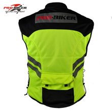 Motorcycle Reflective Vest Street Road Protector Motocross Body Armour Protection Jackets Vest Clothing Protective Gear JK22