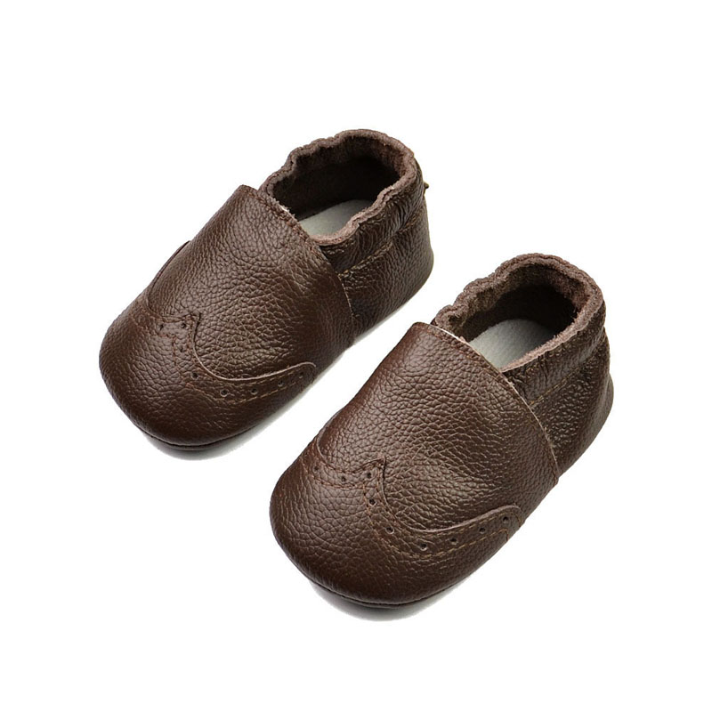 Fashion Soft Baby Boy Shoes Genuine Leather Baby Moccasins Multicolor Handmade Toddler Girls Shoes for Kids 0-24M