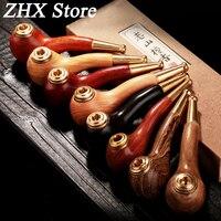 A buon mercato e di Qualità 6 Tipo di Legno Tubi per Fumare erba-in-Tubo del Filtro Fumo di Tabacco Sigarette Lavabile Filtro Metallico
