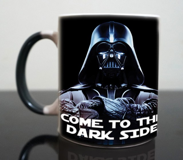 "Star wars Mugs Darth Vader ""Come Into The Dark Side"""