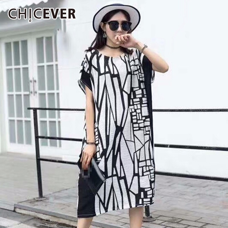 CHICEVER 2018 Summer T shirts For Women Top Hit Colors Pocket Short Sleeve Loose Big Size Female T shirt Clothes Fashion New