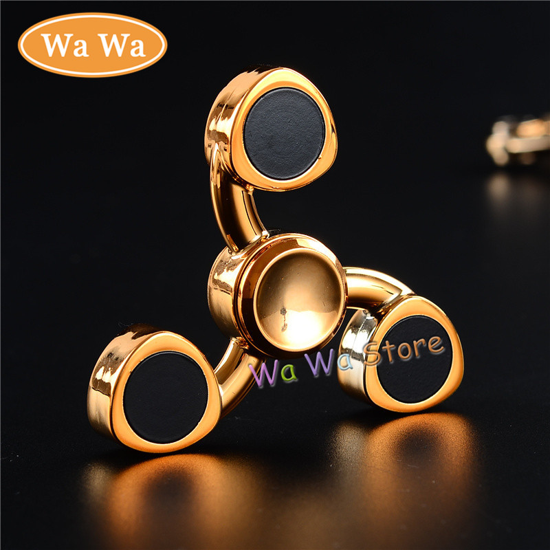 Hot Sales Learning Educational Toy Tri Spinner Fidget Spinner Plastic EDC Hand Spinner For Autism Fidget
