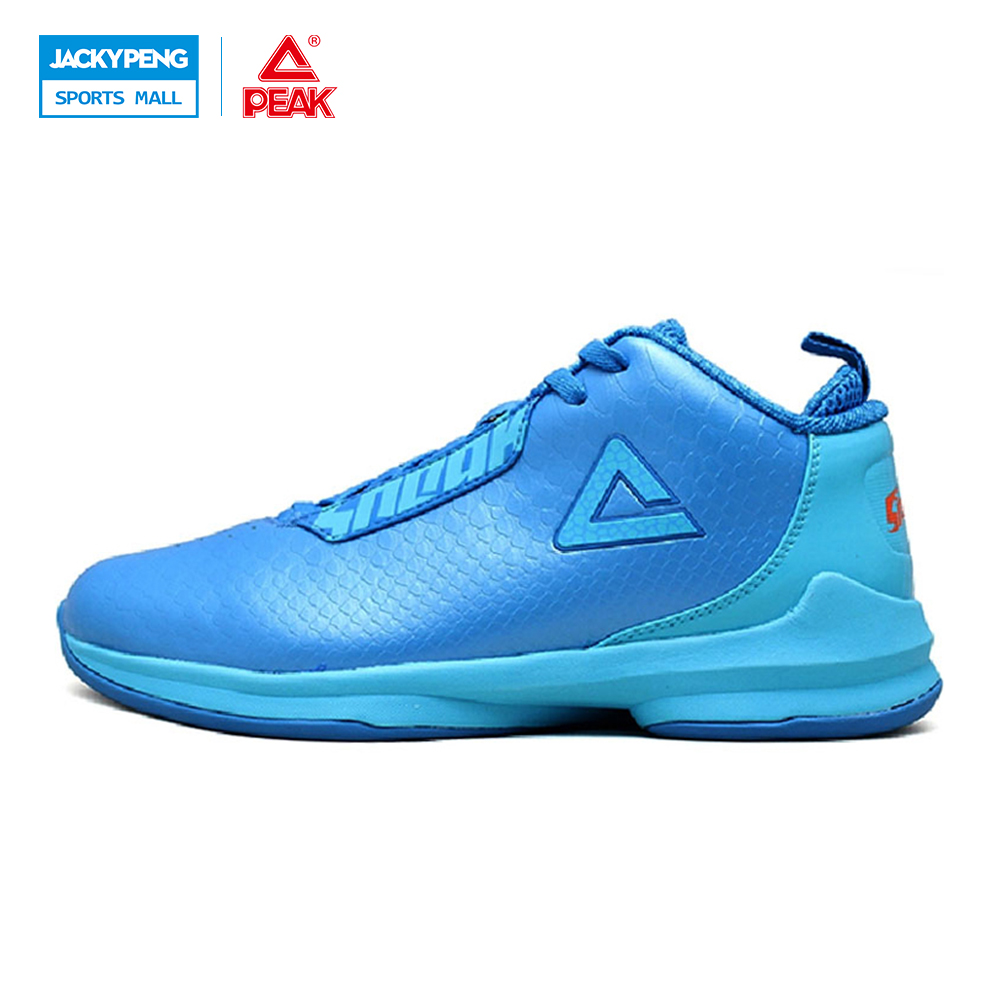 ФОТО PEAK SPORTS Men Training Cushioning Athletic Basketball Shoes Waterproof Sports Sneaker E42061A Free Shipping