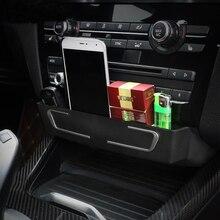 Автомобиль консоли CD Панель Замена пряжки Организатор Коробка для хранения Авто аксессуары для BMW 3 4 серии 3GT X3 X4 F30 f34 стайлинга автомобилей