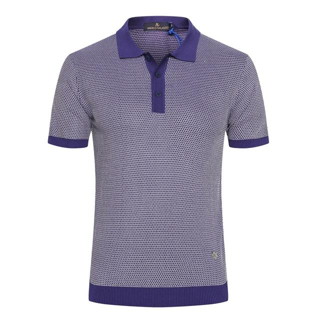 Billionaire T shirt silk men 2019 summer new Fashion print casual zipper Business England gentleman big size M-5XL free shipping