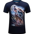 2016 New arrivals brand clothing Fashion 3D Printed tshirt homme animal men t-shirt casual hip hop t shirt off white camisetas
