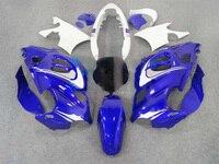 Синий/белый/черный ABS Обтекатель для Suzuki GSX600F GSX750F 97 98 99 00 01 02 03 04 05 06 GSX 600F 750F катана