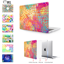 """MTT Case For 2017 New Apple Macbook Air 11″ 12"""" 13″ Pro 13.3 15 Touch Bar Pro 13″ 15″ With Retina Aquarelle Crystal Hard Cover"""