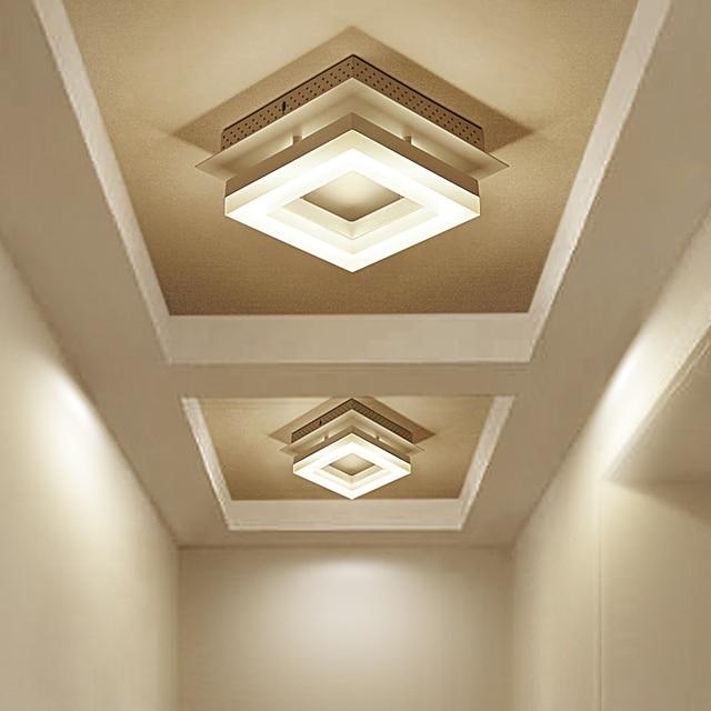 Led Moderne Minimaliste Plafonniers Couloir Lumieres Balcon Couloir