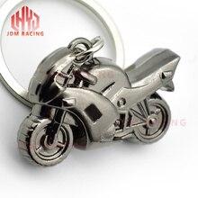 Горячая Мода Мужчины крутой мотоцикл кулон сплав брелок автомобильный брелок подарок Мотоцикл держатель для ключей