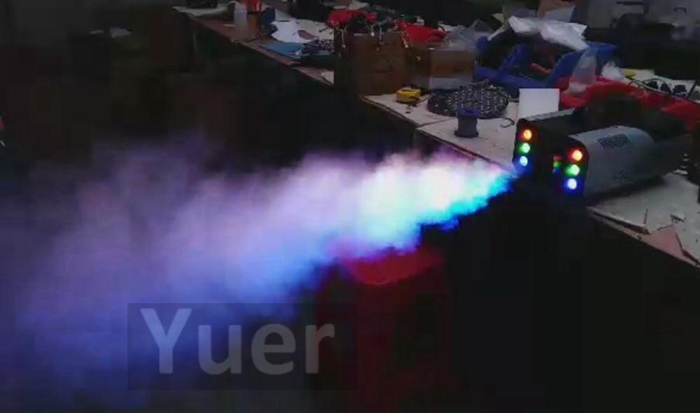 Image 4 - High Quality 1500W RGB LED Fog Stage Effect Smoke Machine Remote Control Smoke Machine Disco Stage Lighting Fog DJEquipment-in Stage Lighting Effect from Lights & Lighting