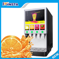 Fresh Fruit Juice Mixer Cold And Hot Juice Beverage Dispenser Concentrated Fruit Juice Pulp Machine