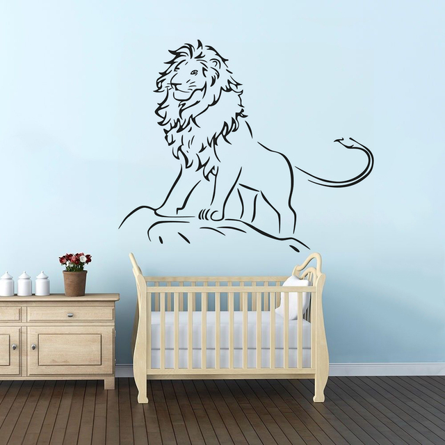 lion king wall decal kids boys room decor lion king of the jungle