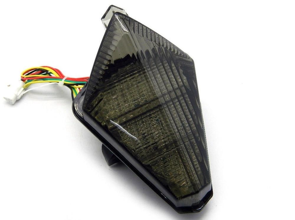 Smoke Motorcycle LED Brake Tail Light Turn Signal Case For YAMAHA YZF-R1 YZF 1000 R1 2007 2008