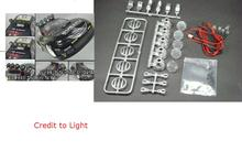LED lamps/ light fixture with 6 lights for 1/10 RC  car RC truck free shipping