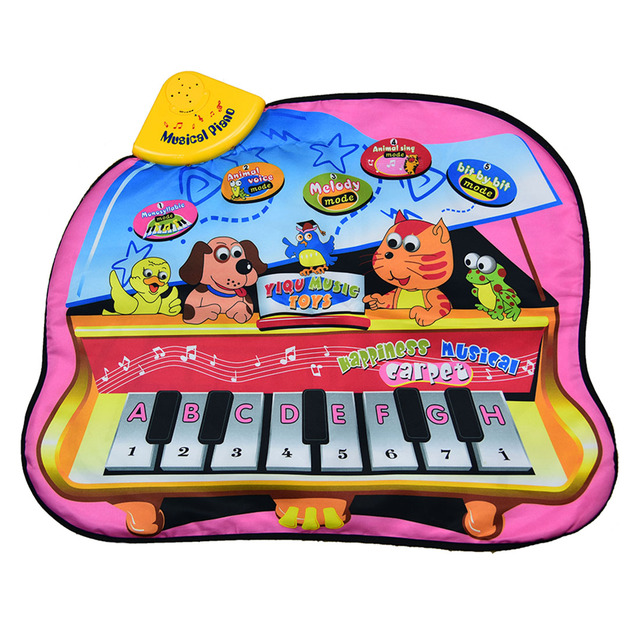 Kids Electric Piano Blanket