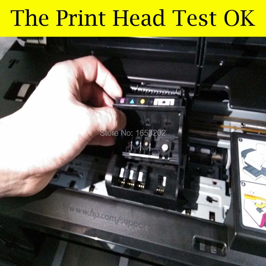 CN643A 920 Print Head For HP Officejet 6000 6500 6500A 7000 7500 7500A Printer With For HP 920 Printhead 12 pcs for hp 920 xl 920xl with chip compatible ink cartridge for hp officejet 6000 6500 6500 wireless 6500a 7000 7500 7500