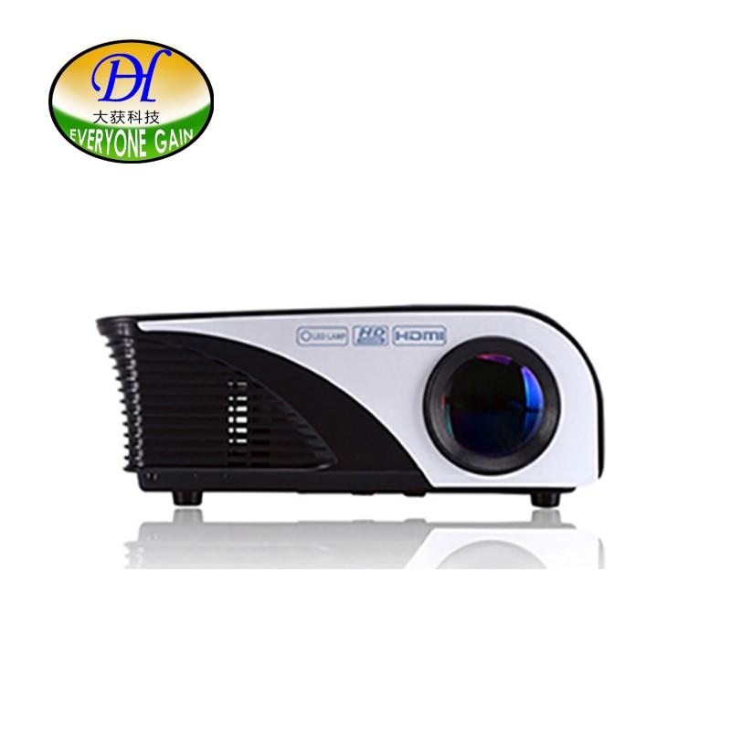 Todos Ganan 1200 Lúmenes Mini321 + Multimedia Portátil de Mano LED LCD HDMI USB Proyector de Películas de cine de Cine en Casa de Videojuegos