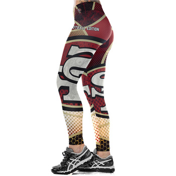 Unisex Football Team 49ers 00 Print Tight Pants Workout Gym Training Running Yoga Sport Fitness Exercise Leggings Dropshipping