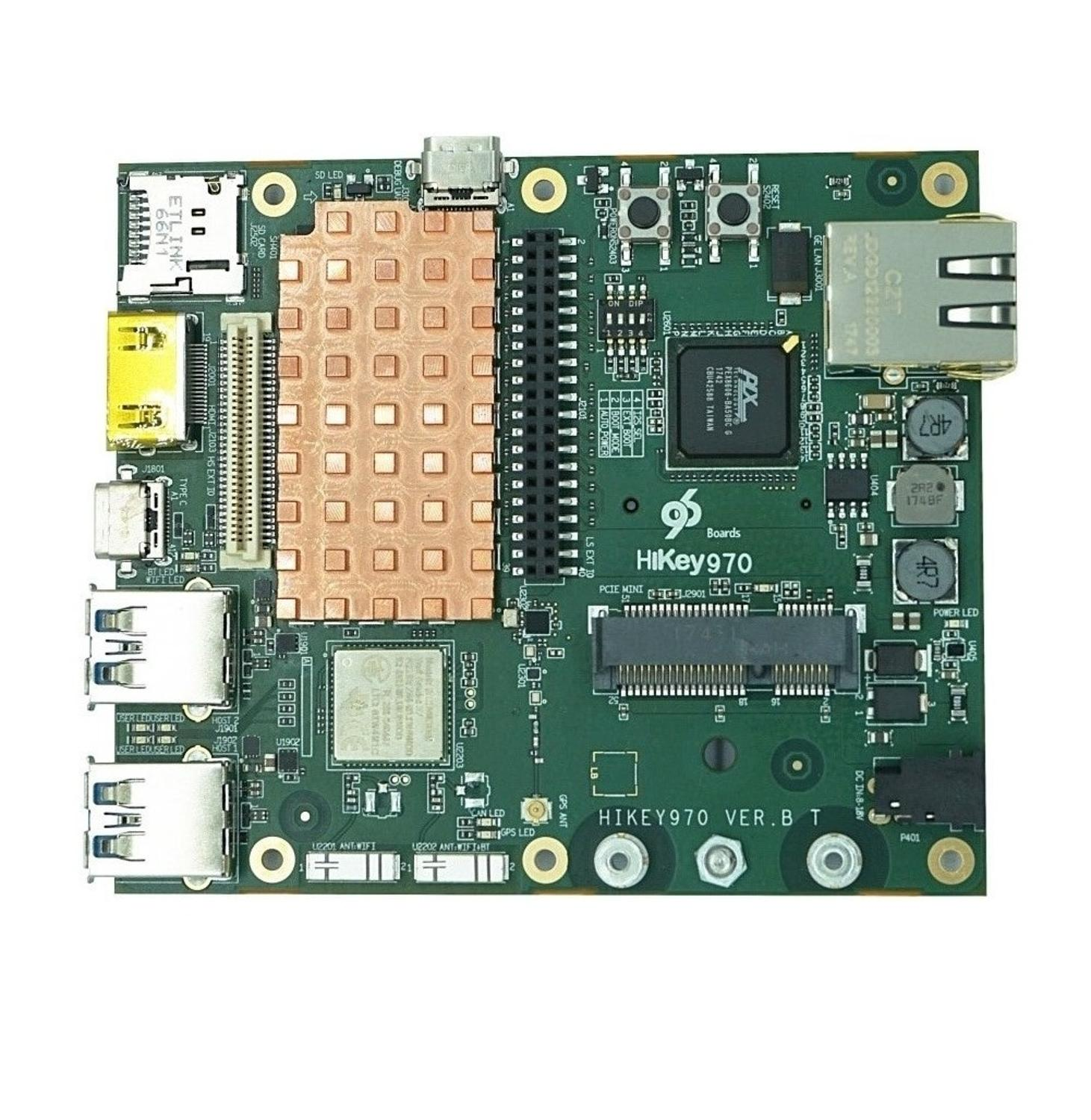 For Hikey970 Hass development board based on Kirin 970 AI artificial intelligence platform to support hardware acceleration