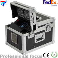 600w haze machine/ new 600w dual hazer machine fog smoke machine dmx512 with flight case
