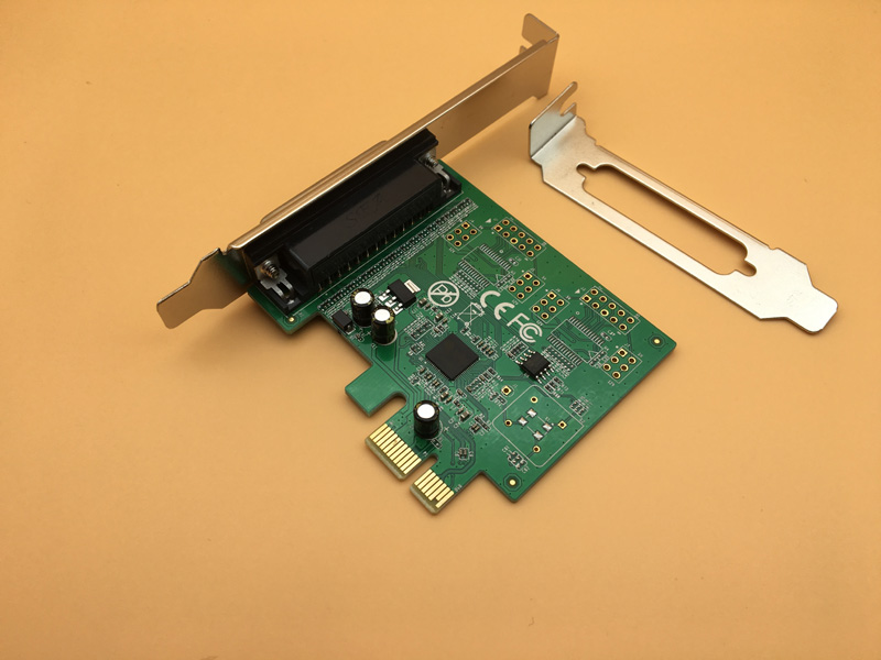 PCI-E to Parallel Port Card AX99100 Chip DB25 Print Interface PCIE LPT Expansion Card