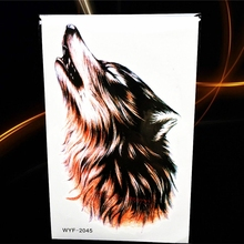 New 1PC Fashion Women Men Waterproof Temporary Tattoo Simulation Removable Vivid Body Art 3D-05 Claw Paw Wound Nail Halloween
