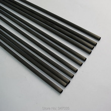 12 pieces spine 300 carbon shaft I.D.4.2mm for arrow DIY hunting shooting archery bow
