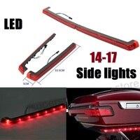 Motorcycles RED Tour Pack Side Marker Lights LED LIGHTS For Harley Touring Road King Street Glide