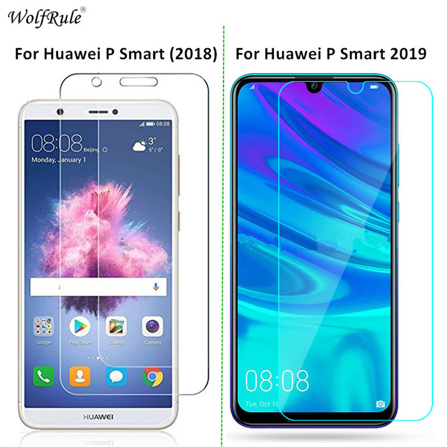 2Pcs For Glass Huawei P Smart 2019 Screen Protector Tempered Glass For Huawei P Smart Glass 2019 Phone Film Enjoy 7S