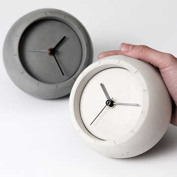 Creative concrete table clock silicone mold cement storage box mold household jewelry and ornaments storage mold - DISCOUNT ITEM  25% OFF All Category