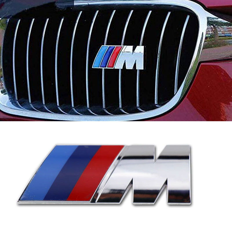 BMW M Sport//Tech Metal Boot Badge - Fits All BMW Cars UK SELLER 85X32mm new