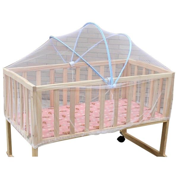 100% QualitäT Sommer Weiß Sichere Baby Moskitonetze Wiege Bett Baldachin Moskitonetz Kleinkind Kinderbett Kinderbett Netting Schlafzimmer Zubehör