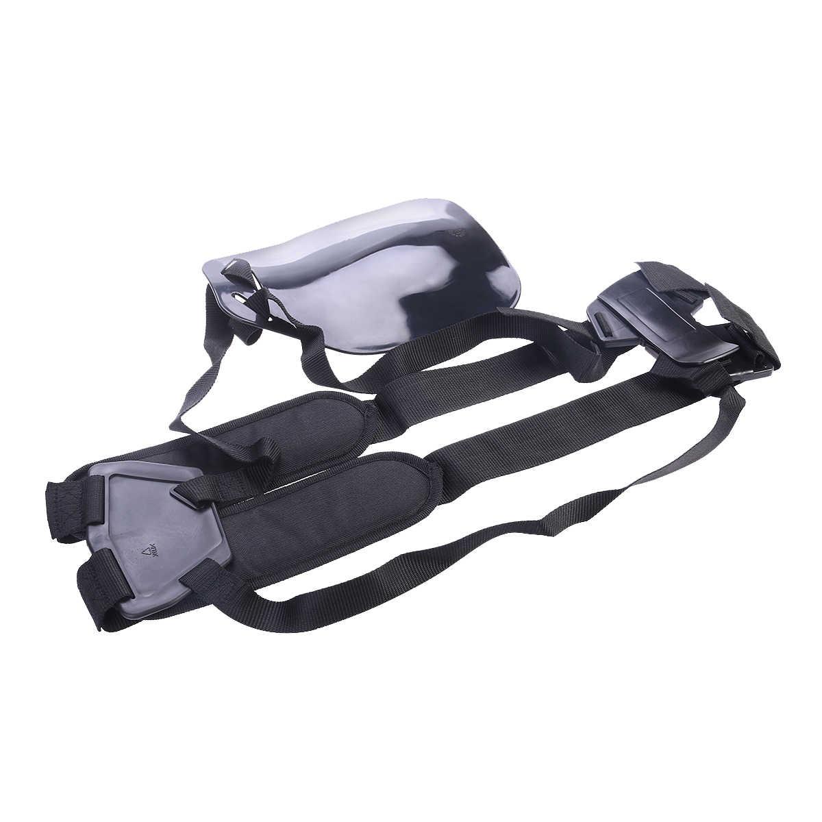 BESTOYARD sangle de confort Double épaule pour débroussailleuses/tondeuses/harnais de Strimmer débroussailleuse de jardin tondeuse à gazon ceinture en Nylon