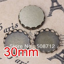 dardanel tone fillet 125 g free shipping Free shipping!!! Bronze Tone Cabochon Frame Settings 30mm