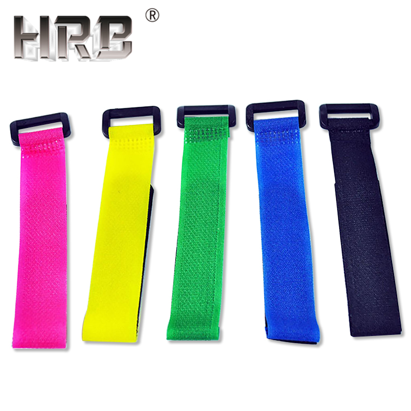 5PCS 260mm 200mm Hook Loop Cable Cord Ties Nylon Fix Strap Belts For RC Lipo Battery Magic Sticker Self Adhesive Tape Parts DIY
