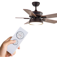 ANYSANE Remote Control Switch Multi Functional Fan Control Support Timing Schedule Wireless Ceiling Fan Lamp Remote
