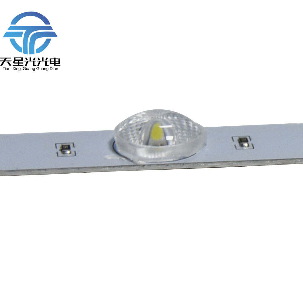 100pcs*95cm Diffuse Lens aluminium 3030 Led Rigid bar 1W/led DC 12V for cabinet advertisement light box