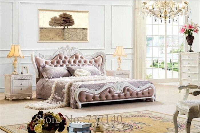 US $895.0 |Mobili camera da letto in legno letto in pelle letto  matrimoniale mobili agente di acquisto prezzo all\'ingrosso-in Letti da  Mobili su ...