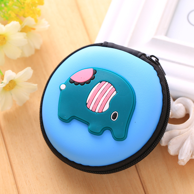 Novelty Cat Silicone Coin Purse Mini Zipper Round Bags Bolsas Headphone Holder Wallets Gift Men Women Storage Key Coin Wallet Easy To Use Coin Purses Coin Purses & Holders